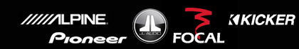 car audio logos picture